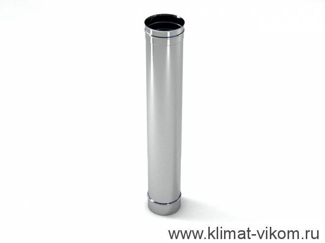 Труба ф 120, 0,5м, AISI 439/ 0,5мм