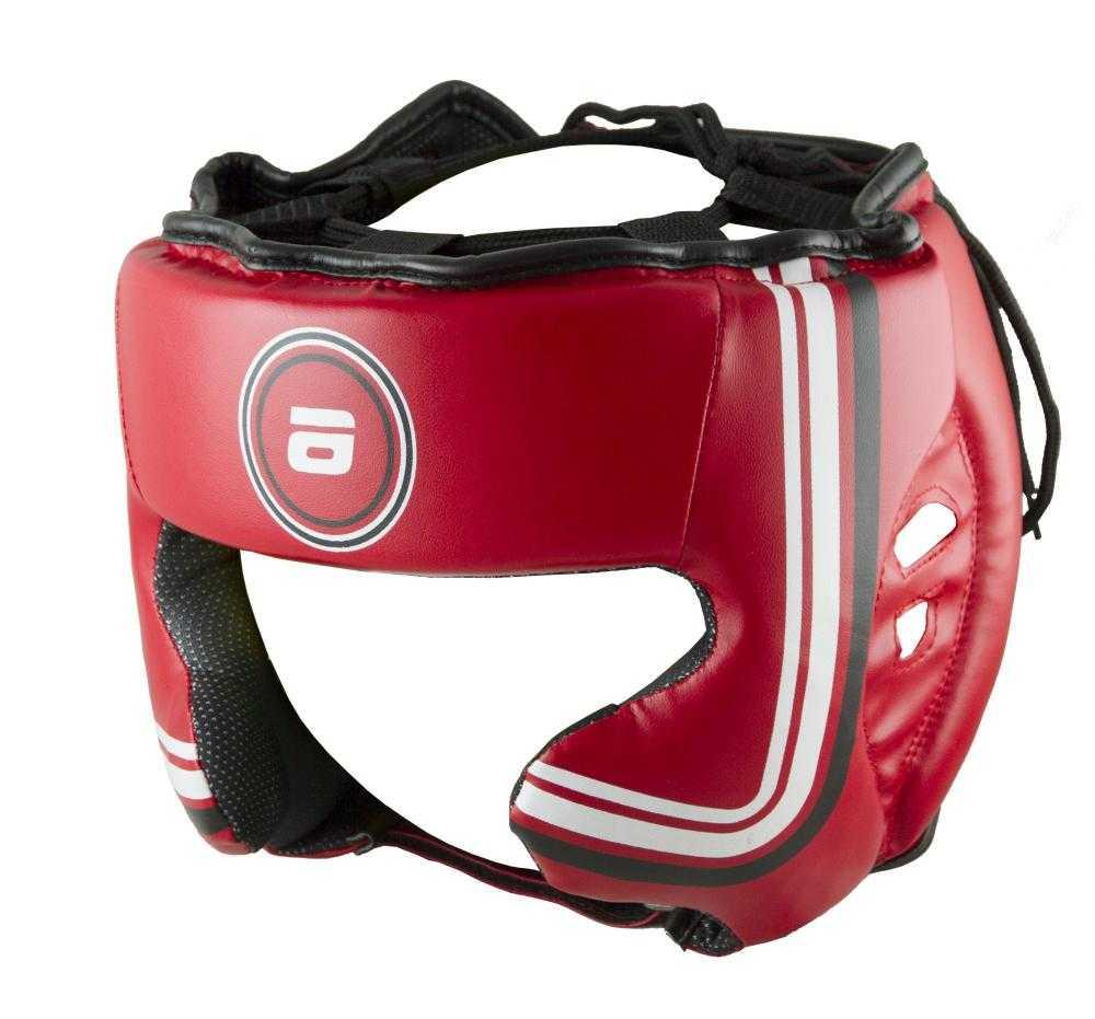 Шлем боксерский Atemi красный LTB-16320