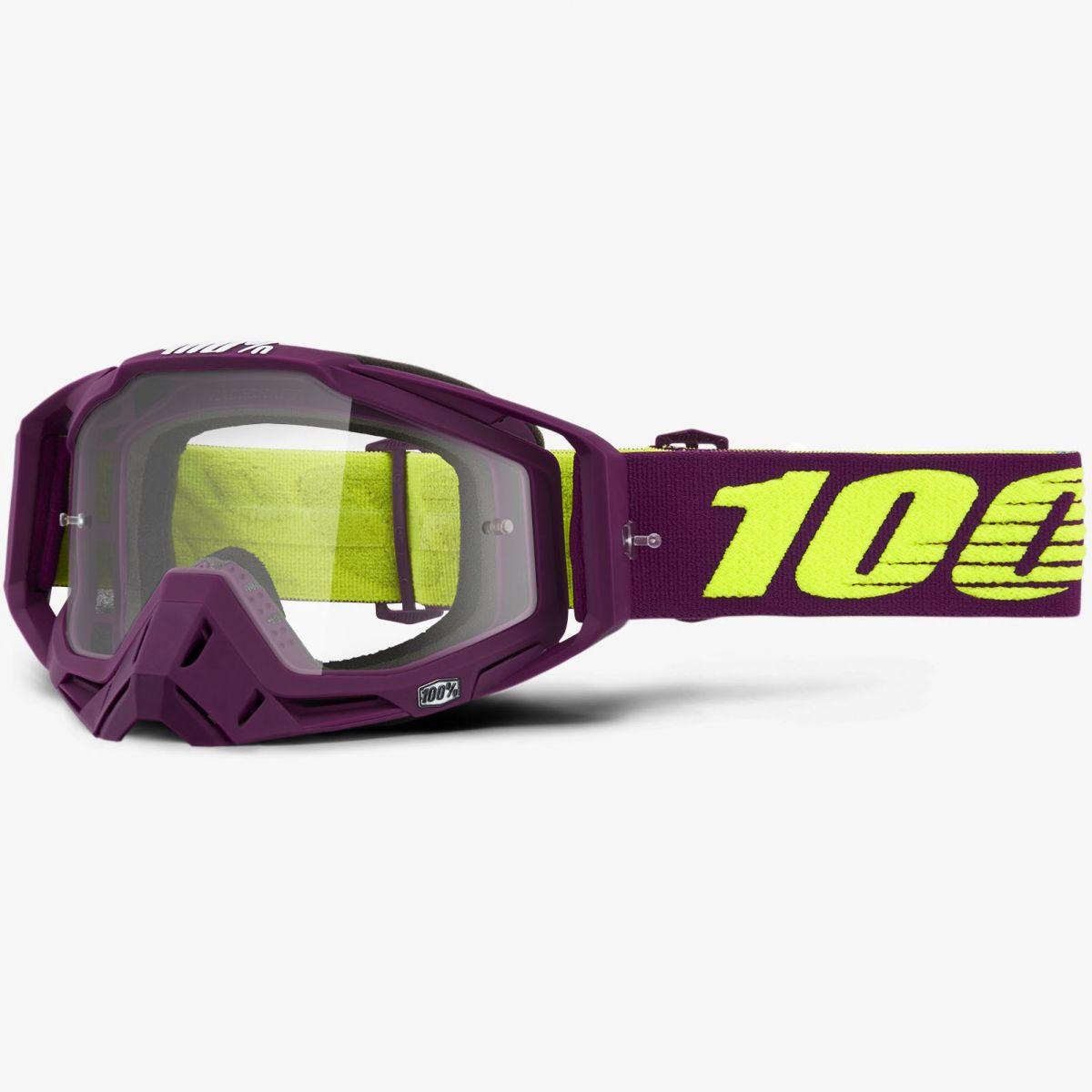 100% - Racecraft Klepto очки, прозрачная линза