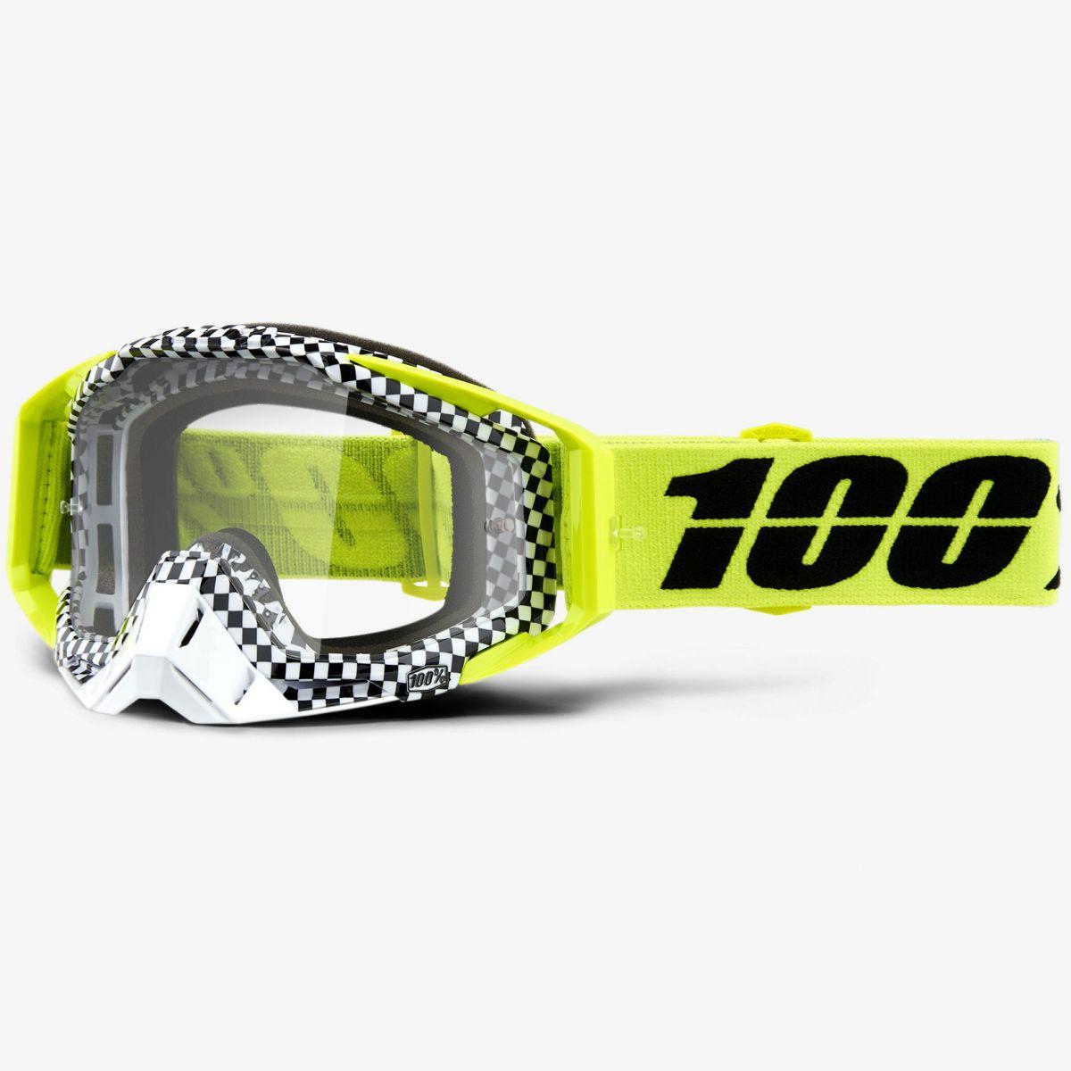 100% - Racecraft Andre очки, прозрачная линза