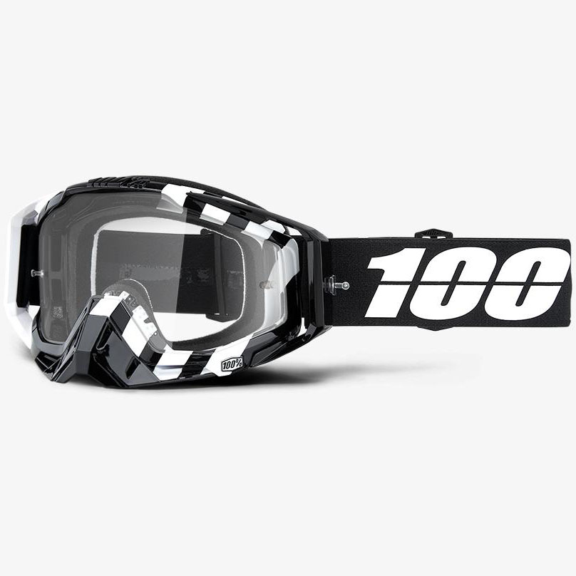 100% - Racecraft Alta очки, прозрачная линза