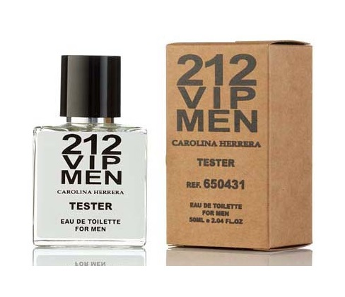Мини Tester Carolina Herrera 212 Vip Men 50 мл (ОАЭ)