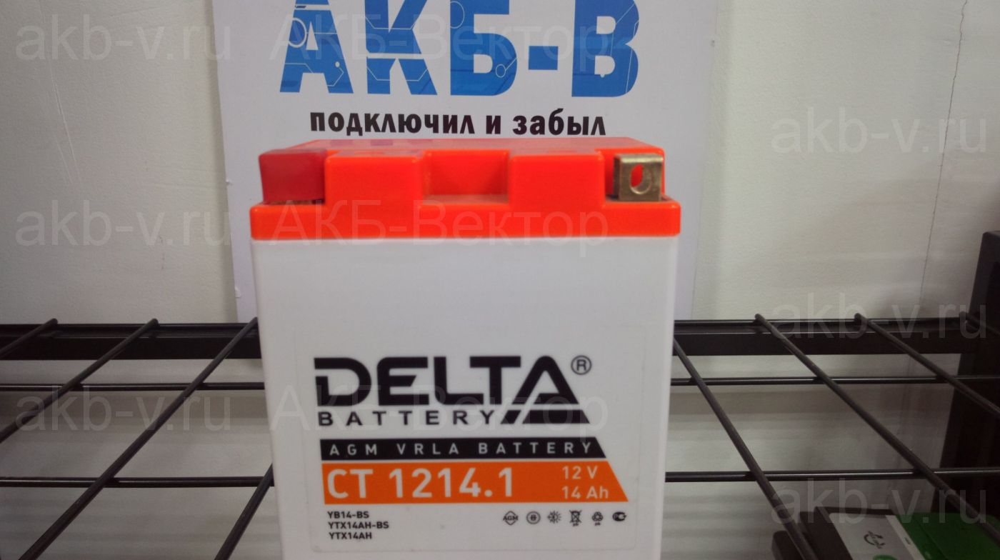 Delta СТ 1214 14Ач 200А(CCA)