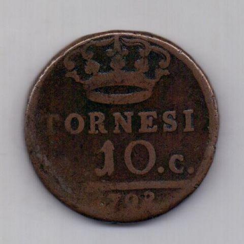 10 торнеси 1798 горда Сицилия