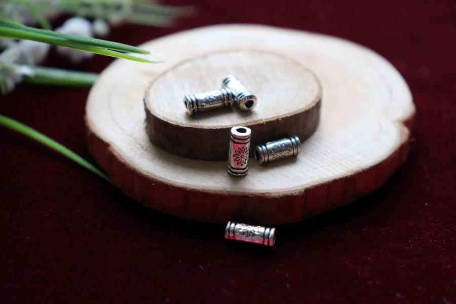 Металлические бусины, Бусина трубочка мал, 5 шт/упак