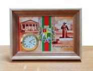 Настольные часы «СТАВРОПОЛЬ» вариант 1