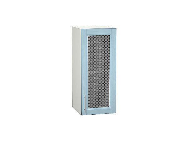 Шкаф верхний Сканди В309 со стеклом Sky Wood