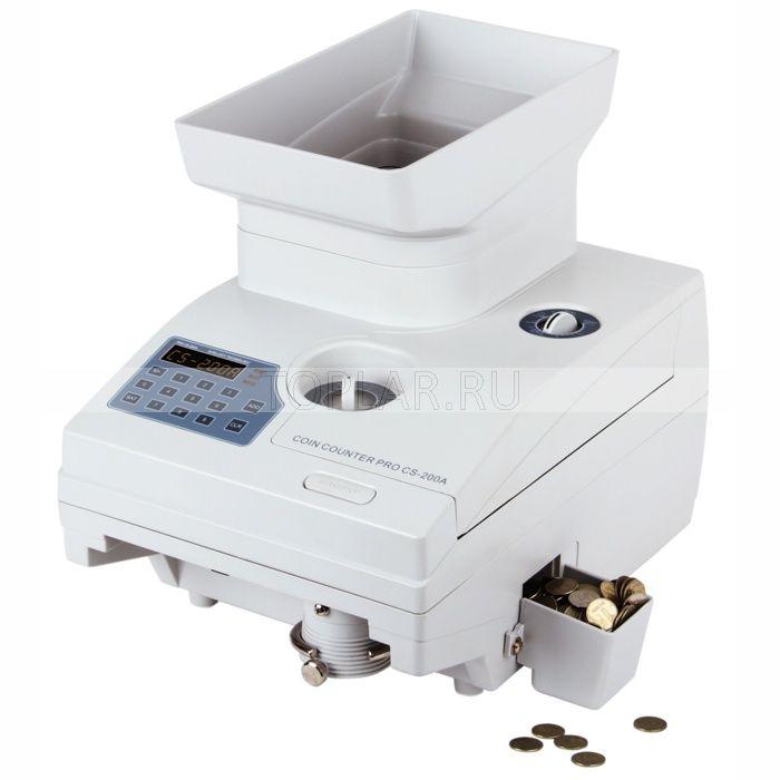 Счётчик сортировщик монет PRO CS 200A