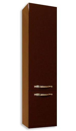 Шкаф-колонна Акватон Ария подвесной Темно-коричневый 1A134403AA430