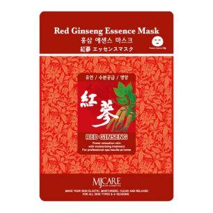 Red Ginseng Essence Mask Маска тканевая красный женьшень , 23гр