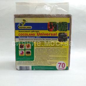 Кокосовый субстрат COCOLAND® Universal, 70 л
