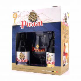 Пивной набор Piraat 2*0,33 + бокал