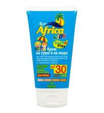 Крем на суше и на море, для чувствительной детской кожи (SPF 30), 150мл