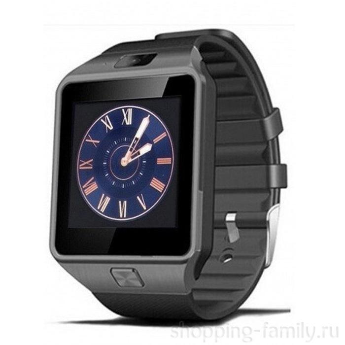 Умные часы Smart Watch DZ09, Цвет Чёрный