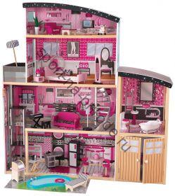 Кукольный домик KidKraft Сияние Sparkle Mansion