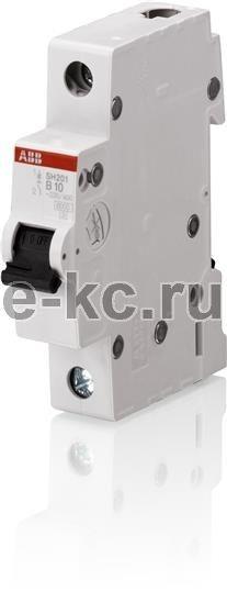 Однополюсный автоматический выключатель SH 201 L C 6