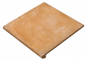 Ступень фронтальная Exagres Alhamar Peldano Fior. Salmon 33×33