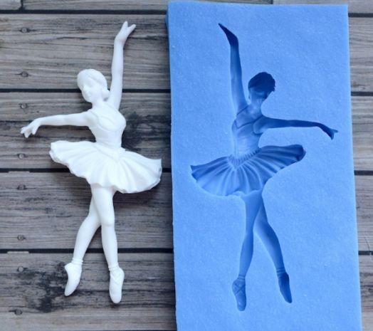 """Молд """"Фигурка балерины 2"""""""