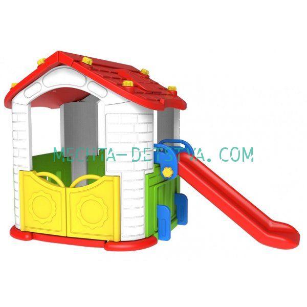 Игровой домик с горкой CHD-801