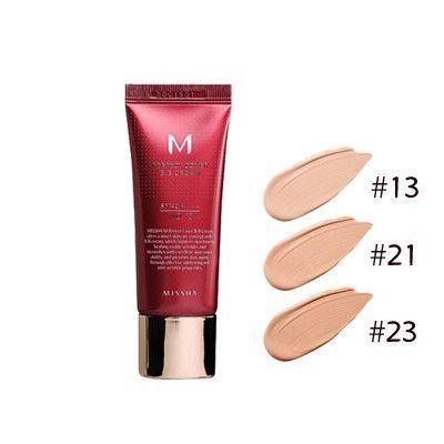 Бб крем с высокой степенью покрытия spf42/pa+++ №21 Missha M Perfect Cover Bb Cream Spf42/pa+++ №21