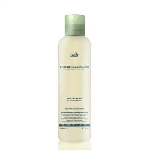 La'dor Профессиональный укрепляющий шампунь с хной Pure Henna Shampoo