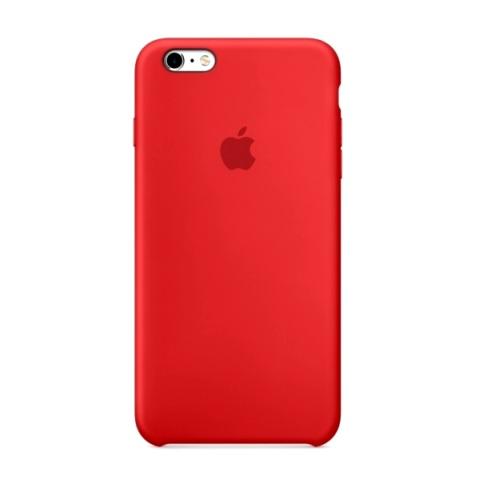Силиконовый чехол Apple для iPhone 6 Plus/ 6S Plus Pink