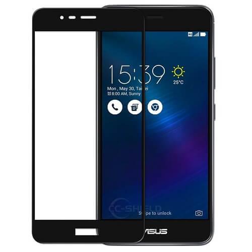 Защитное стекло полное (2.5D) для Asus Zenfone 5 (6.2'', ZE620KL) Черный