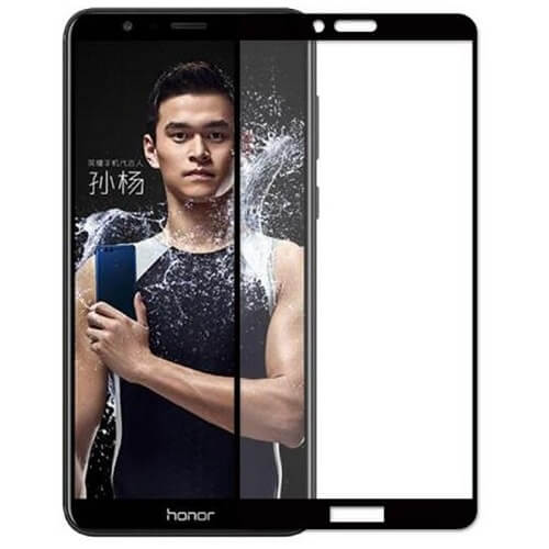 Защитное стекло полное (2.5D) для Huawei Honor Play Черный