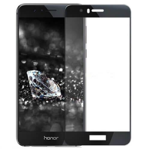 Защитное стекло полное (2.5D) для Huawei Honor 8 Lite Черный