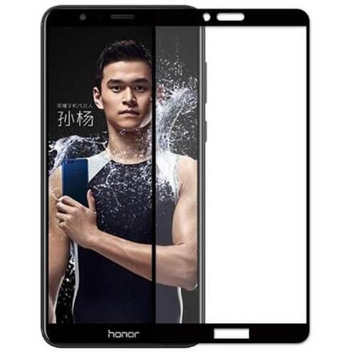 Защитное стекло полное (2.5D) для Huawei P20 Lite Черный