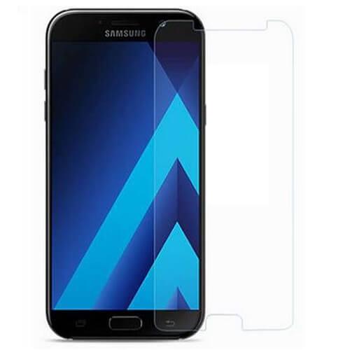 Защитное стекло (плоское) для Samsung Galaxy A8 2018 (A530F)