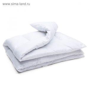 Одеяло АДЕЛЬ Стандарт лебяжий пух 105*140, микрофибра, пэ100%   3409674
