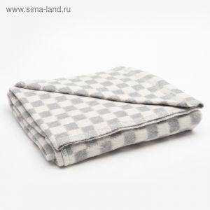 Одеяло байковое размер 100х140 см, цвет микс для универс., хл80%, ПАН 20%, 420гр/м   4296465
