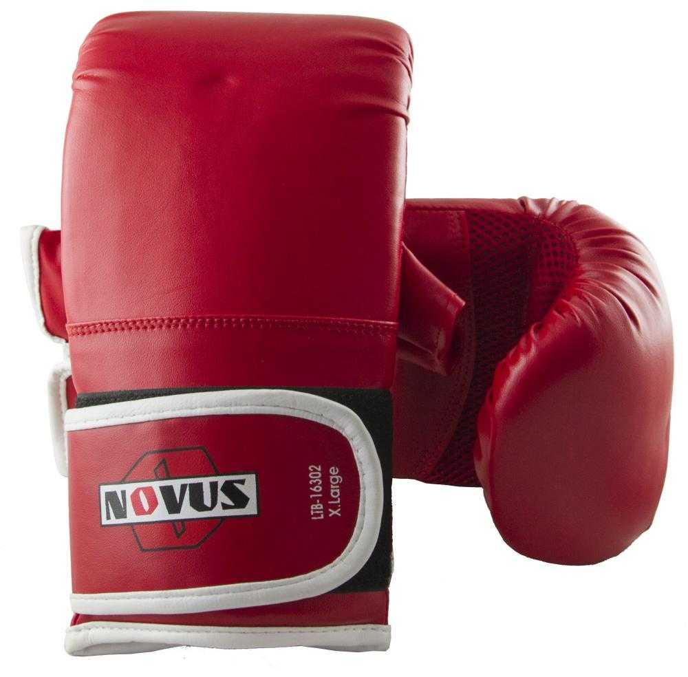 Перчатки снарядные Novus красные LTB-16302