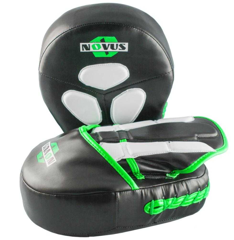 Лапы тренировочные Novus зеленые LTB-16511
