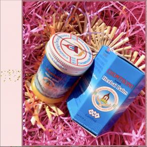Традиционный тайский жёлтый бальзам Chomthong Brand Herbal Balm, 50 гр