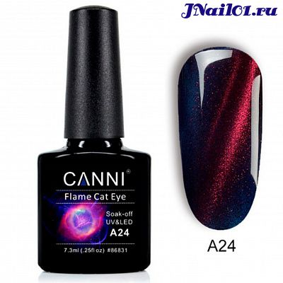 Гель-лак Canni Flame Cat Eye № A24