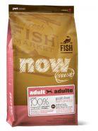 NOW Natural holistic Беззерновой корм для взрослых собак с форелью и лососем для чувств. пищеварения Grain Free Fish Adult Recipe  2,72 кг