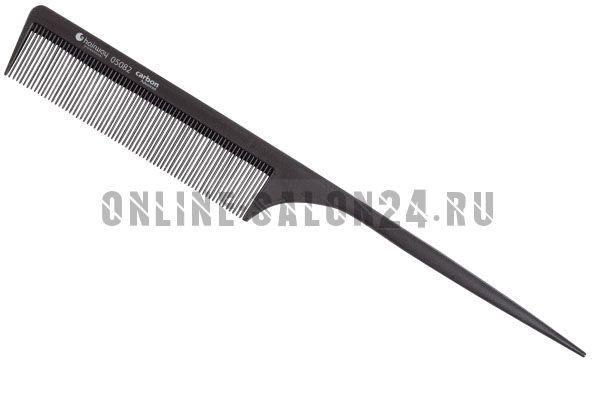 Расческа Hairway Carbon Advanced хвост.карбон.220 мм