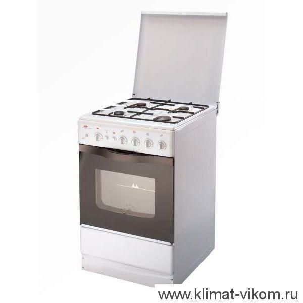Плита газовая PRS 14.120-03 W 4-конф. щиток, белая