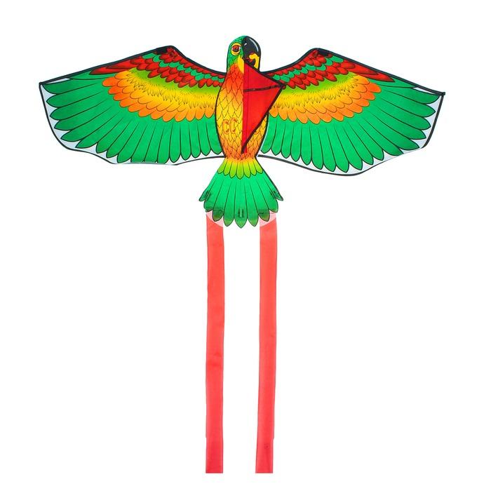Воздушный змей ПТИЦА 110Х140 см
