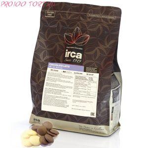 Шоколад белый  IRCA 32/34  вес 100 гр.