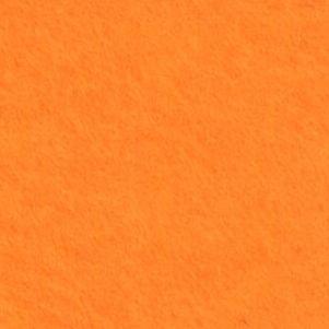 Фетр, 1 мм, 20*30 см, Мандариновый