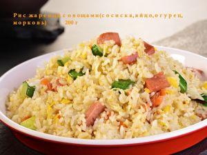 176 Рис жареный с овощами