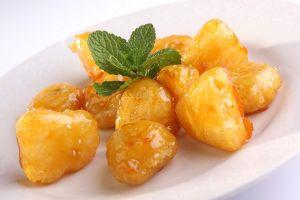 166 Ассорти из фруктов в сахарном кляре