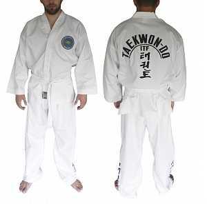 Кимоно для тхэквондо ITF с шелкографией AX8