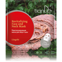 Ревитализирующая маска для лица и шеи Линчжи