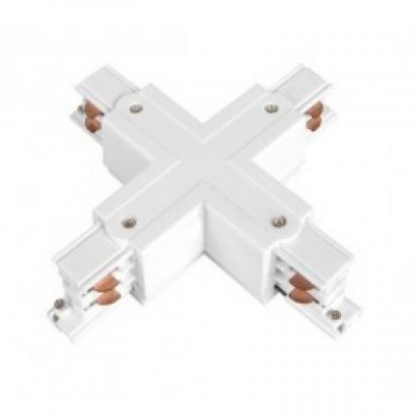 Коннектор для шинопровода Х- образный 3-фазный General G-3-TXT-IP20 580932