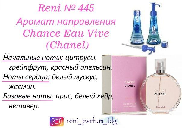 духи Reni № 445