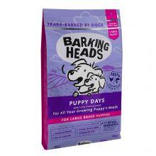 """Barking Heads для щенков крупных пород с курицей, лососем и рисом """"Щенячьи деньки""""  18 кг"""
